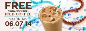 cinnabon free coffee