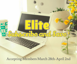 Elite Subscribe and Save