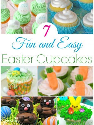 Easter Eggs Cupcake Roundup