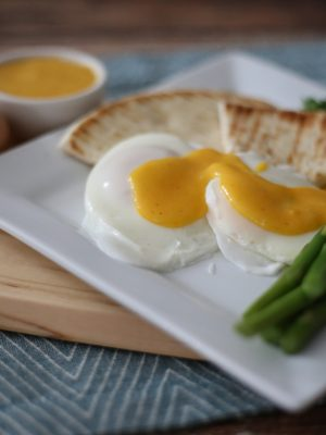 Easy Sunday Morning Hollandaise Sauce